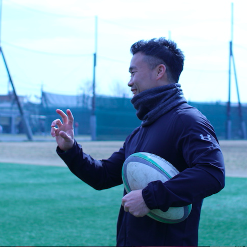日本最小ラガーマンが語る【豆の眼力】「絶妙なコース取り」松田力也選手の技術
